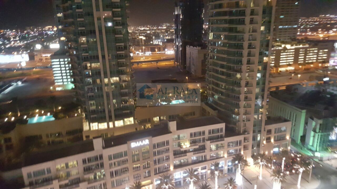 Furnished 2 B/R Downtown and Blvd view .