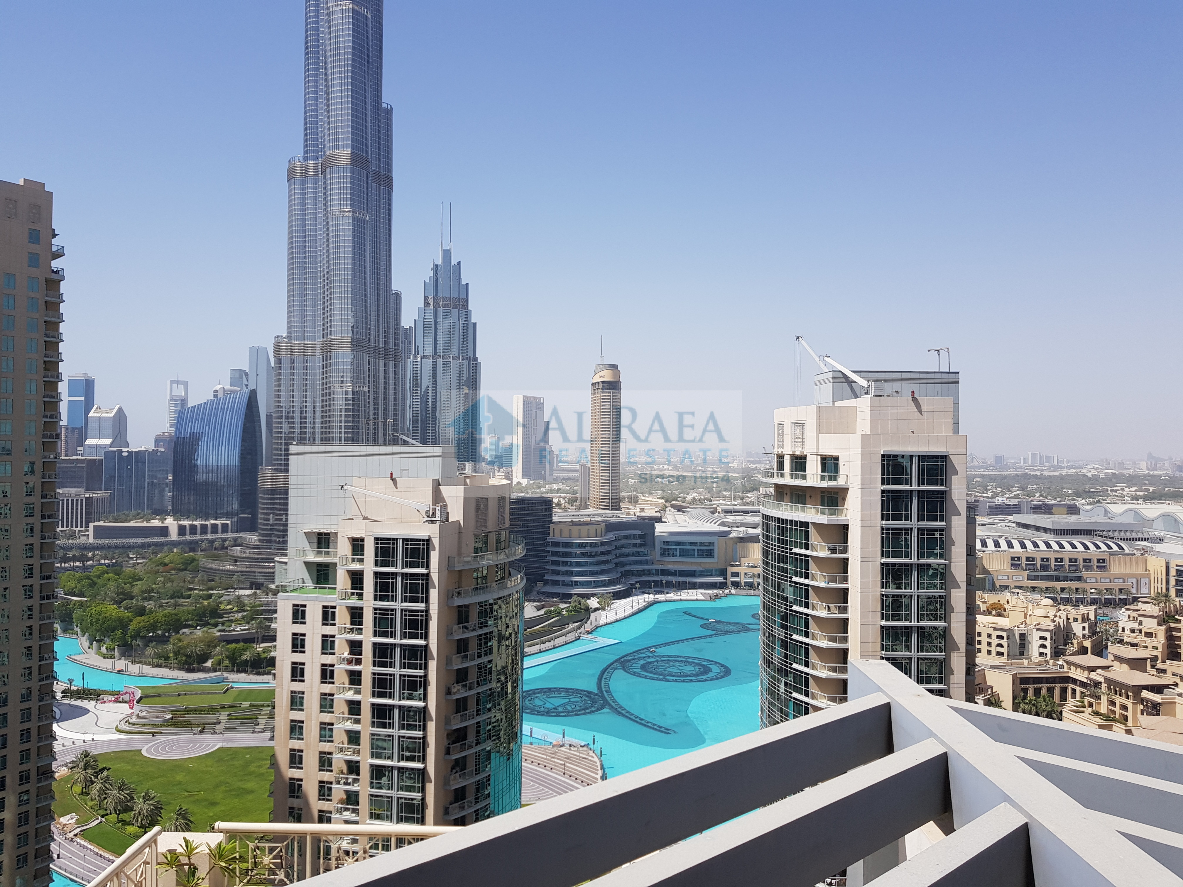 2 bed with full Burj and fountain view .