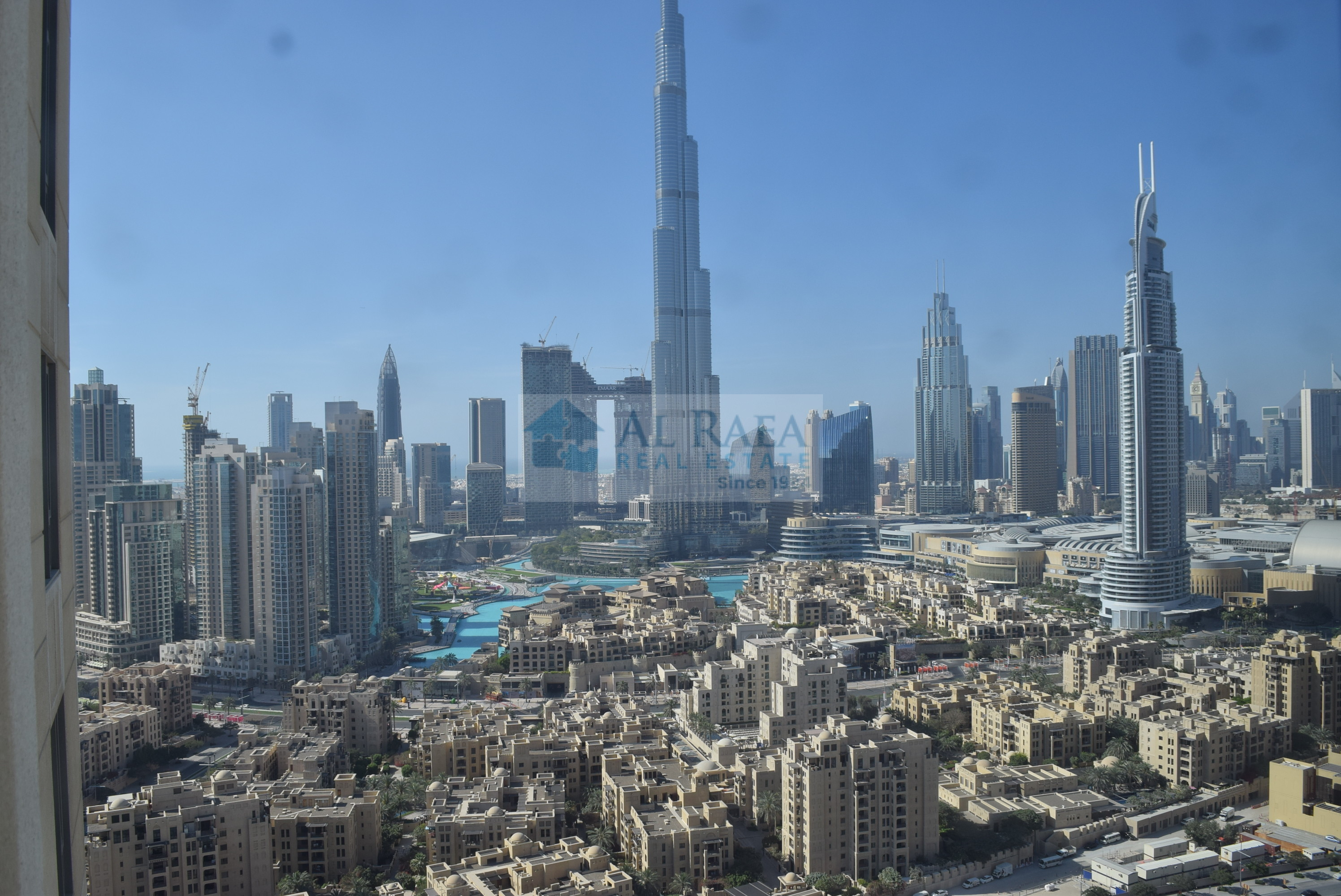 Beautiful 2 Bhk Apartment with Burj Khalifa View