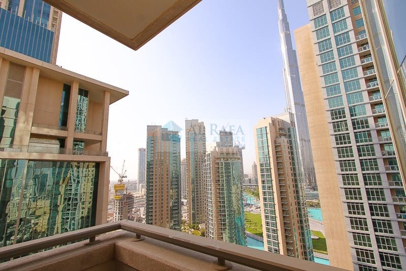 Amazing 2 bed for sale in Boulevard central with Burj khalifa view